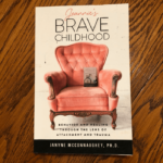 Brave Book Cover - Jeannie's Brave Childhood