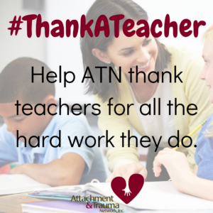 #ThankATeacher: Help ATN thank teachers for all the hard work they do.